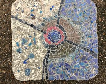 Mosaic art, Mosaic abstract picture, Wall hanging art, Fine art mosaic, Ceramic mosaic,