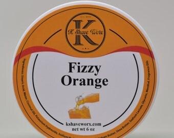 Fizzy Orange Shave Soap