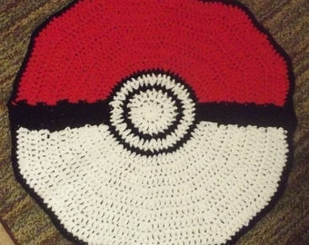 Pokemon rug, pokeball, pokemon, pikachu