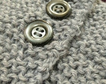 Mixed wool vest-Two-tone