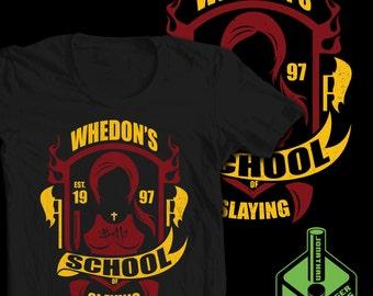 Whedon's School of Slaying T-Shirt