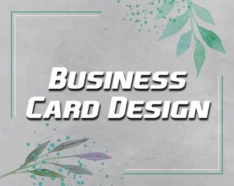 Custom Design Business Card