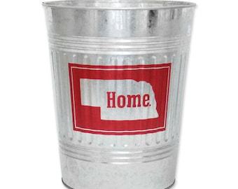 Nebraska Home Waste Basket - BNEB5038