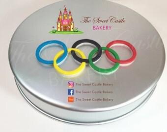 Fondant Olympic Rings