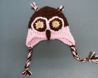 "Baby Owl Hat. Omg look how cute you are. ""Whowho""!"