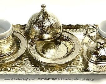 turkish coffe or espresso coffe set