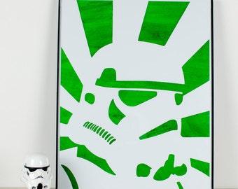 Propaganda Style Stormtrooper: Wash