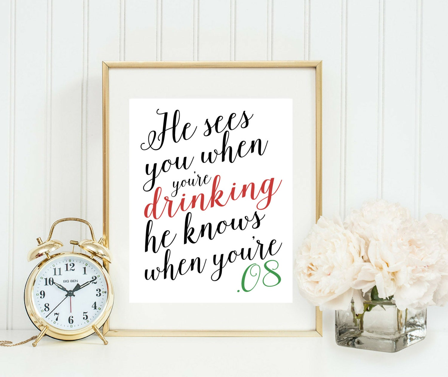 Christmas party decor funny christmas quote printable he for Christmas decoration quotes