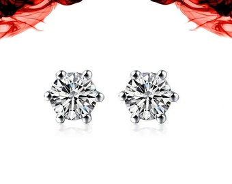 Swarovski Stud Earrings 18k