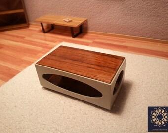 Dollhouse - Miniature - Modern Coffee Table - 1/12 scale
