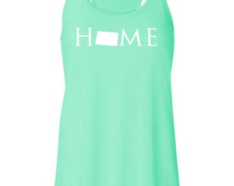 Wyoming home tank top, Your state tank, Wyoming shirt, Wyoming tank top, Wyoming home, Wyoming home T