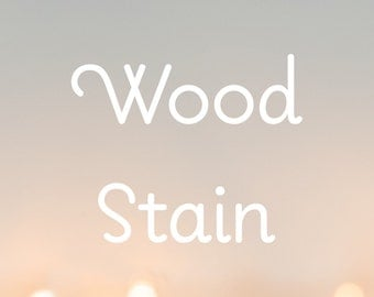 Wood Stain / Paint for Any Nightlight