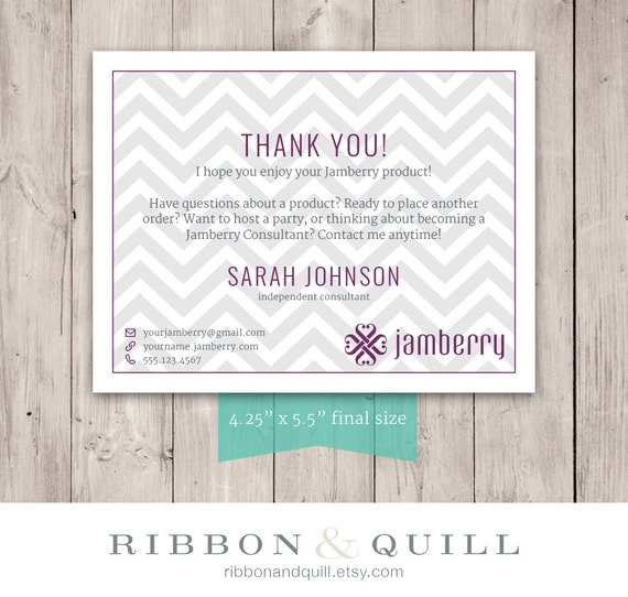 Ribbonandquill jamberry business bundle business card thank you ribbonandquill jamberry business bundle business card thank you label custom pdf printable template consultant vista print vistaprint bc reheart Image collections