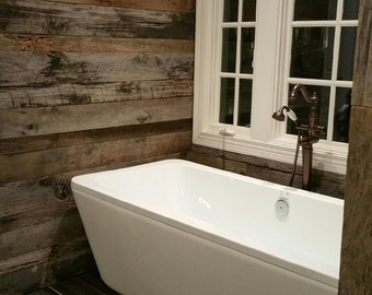 Original Faced Barn Wood Siding for Accent Walls