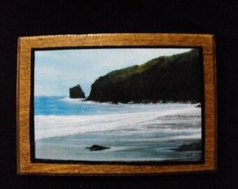 Oregon Coast Print Painting