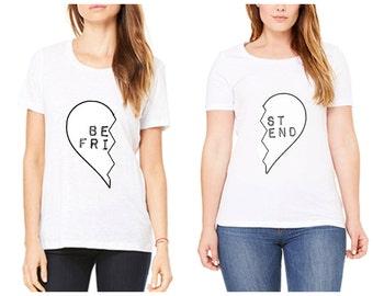 Best Friend Shirt  - set of 2 shirts