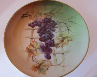 JHR Bavaria Grape Motif Plate