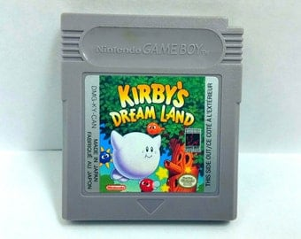 Kirby's Dream Land Nintendo Game Boy Original, Cartridge Tested