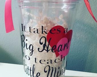 Teacher Gift Tumbler. Teacher Appreciation Gift.