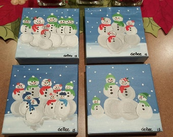 Snow families made to order
