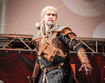 Geralt of Rivia - Witcher 3 Bear Armor FULL Costume / Hight Quality HANDMADE!