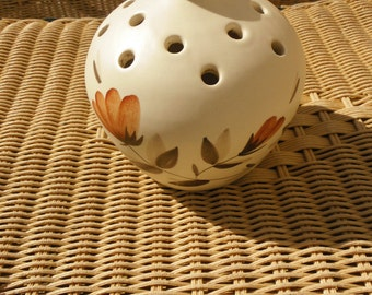 Pot humidifier, vintage 80s France