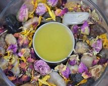 Cold Sores-Anti Viral Lemon Balm Lip Salve-Handmade-Organic-Anti Viral-Cold sore Relief Lip Balm-Chicken Pox-Natural Remedy-Cold Sore Salve