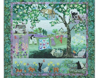Whiskers in the Wind  COMPLETE Quilt Kit by McKenna Ryan