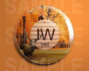 JW.org A Peaceful Fall Pin