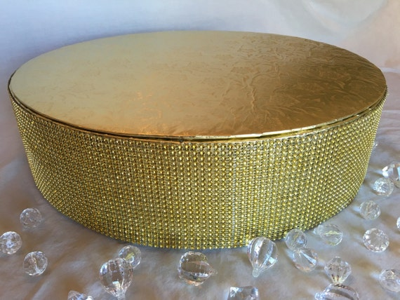 gold bling wedding cake stand cake stand 6 to 18 gold silver bling 14747