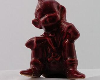 Vintage Sitting Ceramic Elf