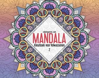 Mandala Kleurboek voor Volwassenen 2