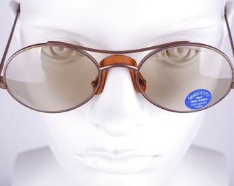 LIVEN Freedom  / Vintage 80's Sunglasses / NOS / Made in Italy    art. 127