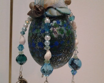 Mermaid Egg Ornament