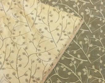 Jacquard Damask Upholstery Fabric. Green Upholstery Fabric. Leaf Upholstery Fabric. Gold Upholstery Fabric.