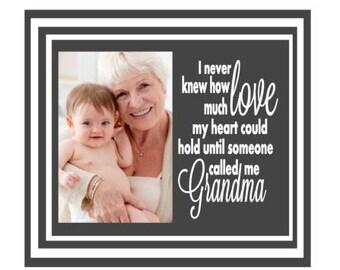 grandma frame grandma picture frame grandma photo frame gift for grandma grandmother frame grandmother picture frame
