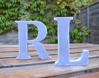 Rustic Wooden Letters