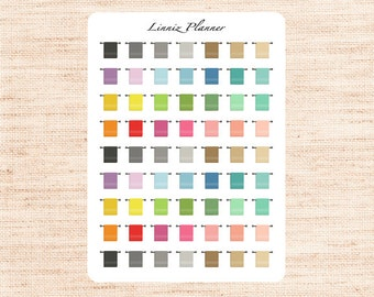 Mini Towel (matte planner stickers, perfect for planners)