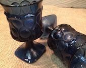 Spotlight Blue Noritake Water Goblets