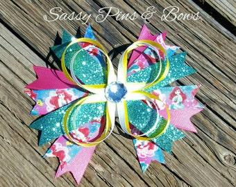 Spiky Mermaid Bow
