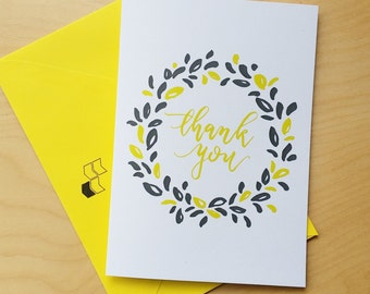 A Simple Thank You - Thank You Card