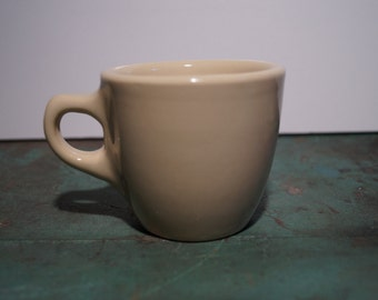 Buffalo China Tan Coffee Cup