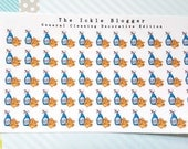 General Cleaning Chore Planner Stickers Decorative Edition