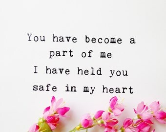Love Print | Love Quote | Romantic Quote | Wedding Gifts