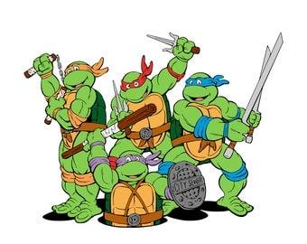TMNT - Teenage Mutant Ninja Turtles Collection - svg files
