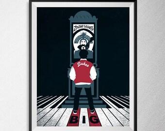 Illustration, Film Print, Minimal BIG Film poster, Tom Hanks Film Poster, 1988 Movie