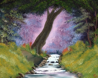"""Oil Painting Landscape - Serenity - 16""""x20"""""""