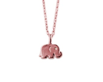 Mini Elephant Pendant / 8MM / MDGN718
