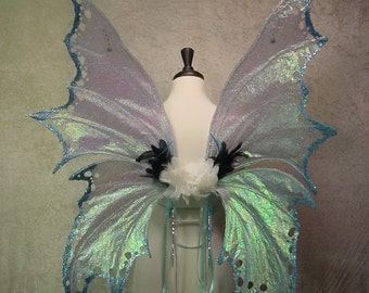 Large Adult Irridescent Fairy Wings