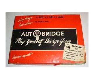 Bridge tutorial etsy for Charity motors bridge card